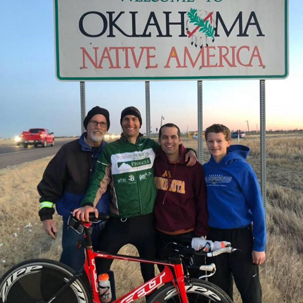 Newton man with Marion Co. ties set new bike record