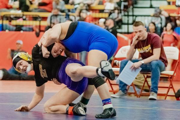 Hillsboro wrestler finishes fifth at state
