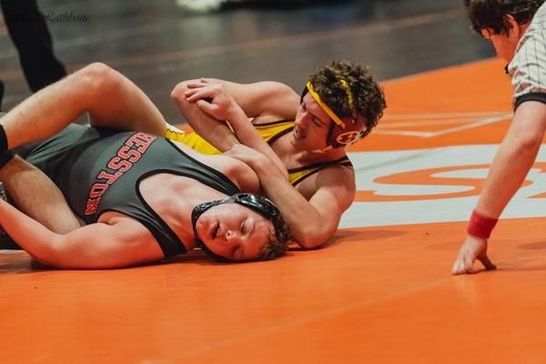 Hillsboro wrestlers finish seventh