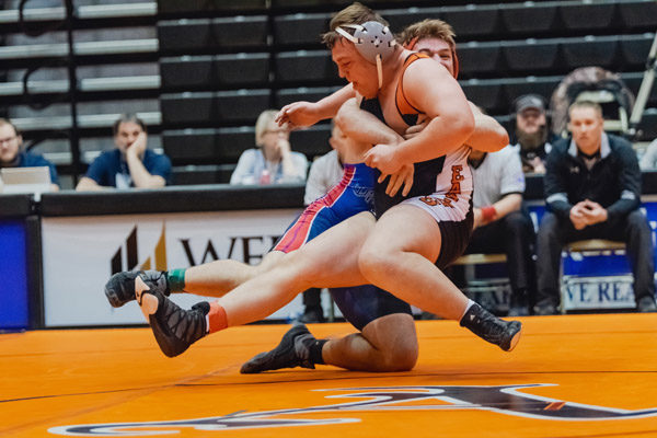 Marion hits mats at state wrestling