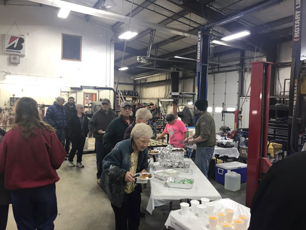 Rod's Tires Customer Appreciation Pancakes