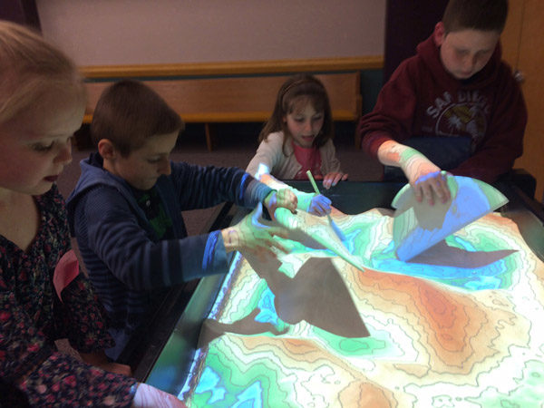 Sandbox gives users a feel for how land can be shaped