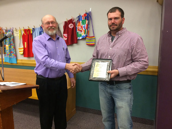 Conservation awards given to Svitak, Peabody United Methodist Church