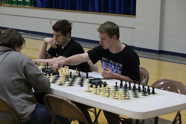 Local students  participate in chess tournament