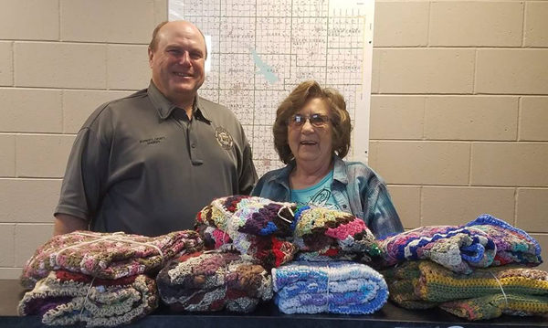 Ehrlich brings comfort through blanket program