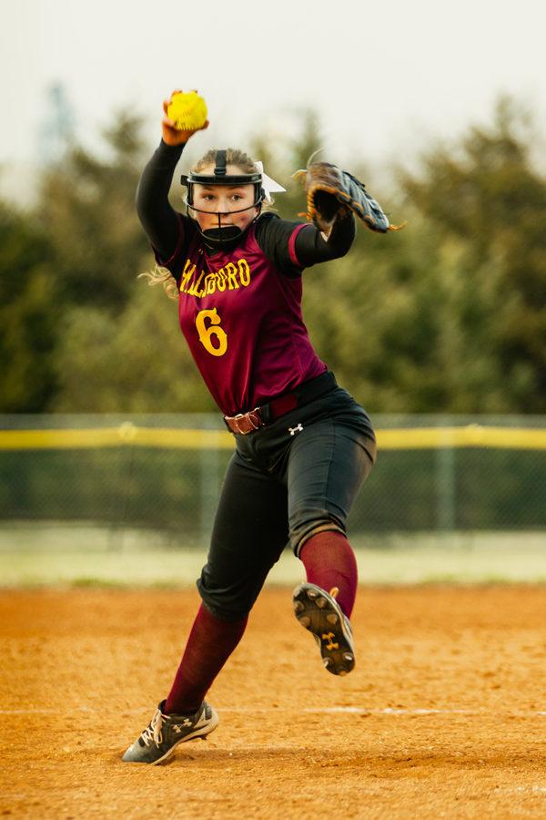 Hillsboro Softball swept by Pratt