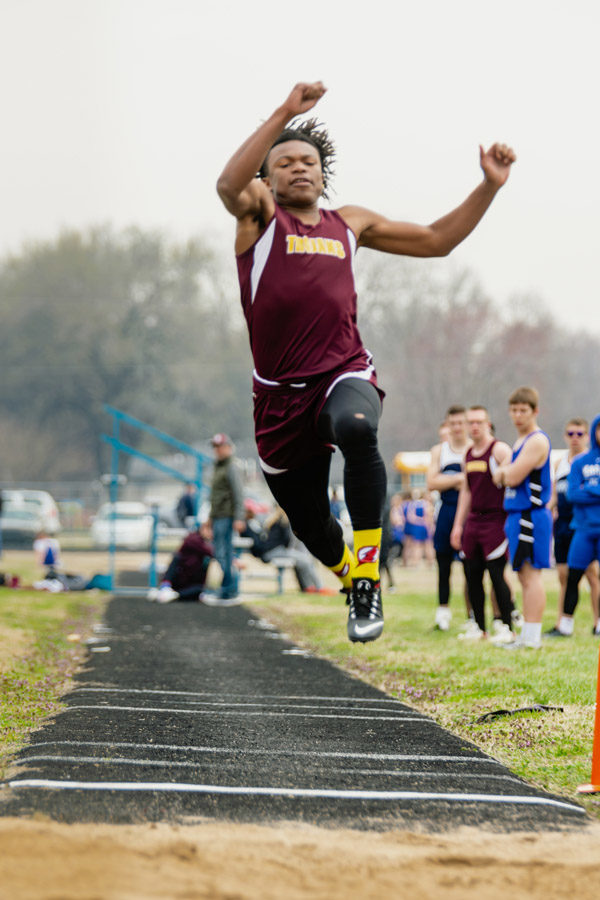 Trojan Track has good showing in first meet