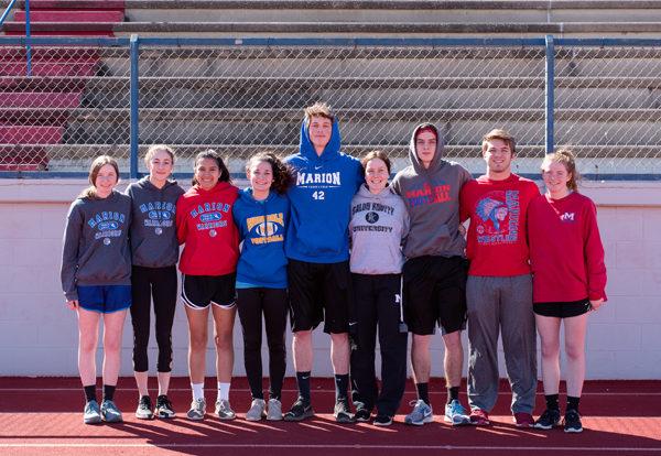 Marion track team has plenty of returning talent