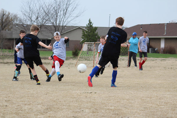 Soccer training brings county youth outdoors