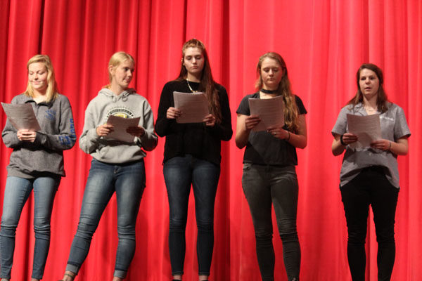 Hillsboro High School conducted a project based learning presentation on civil rights