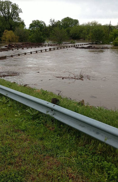 Flooding throughout Marion County