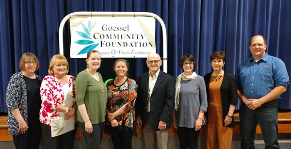 Goessel group gives grants