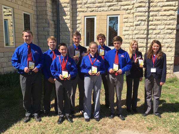 Local students participate in TSA State Conference