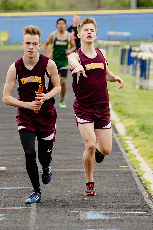 Trojan Track has good outing