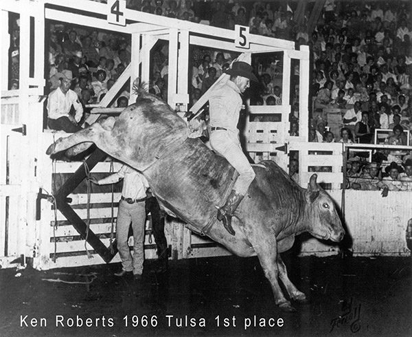 Roberts to be inducted into Rodeo Hall of Fame