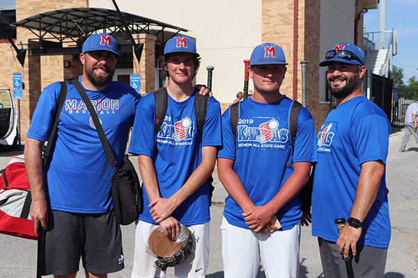 Marion players, coach, represent at All-Star Game