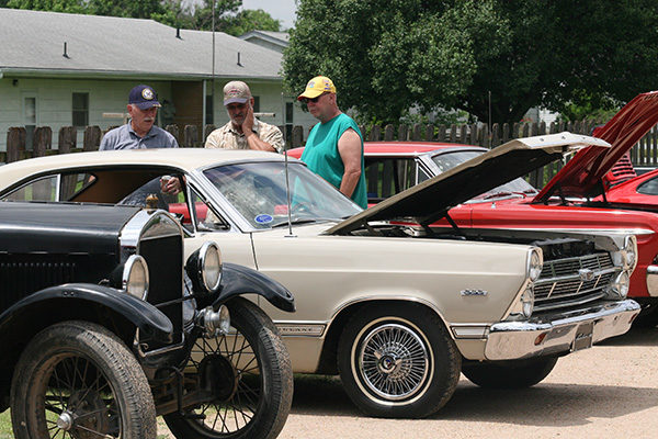 Car show brings crowd, fun stories