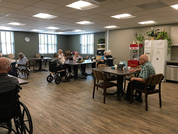 St. Luke Living Center opens to public