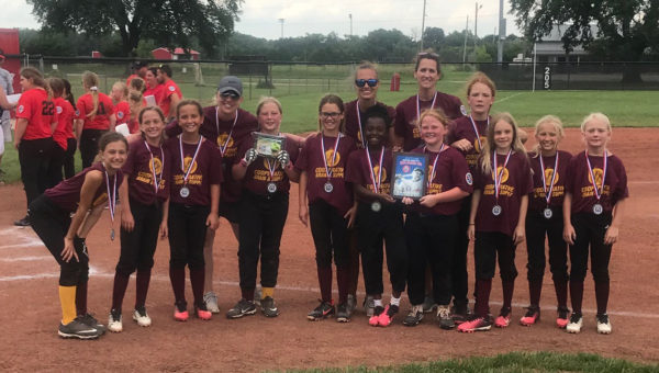 Local softball team finishes second at state tournament