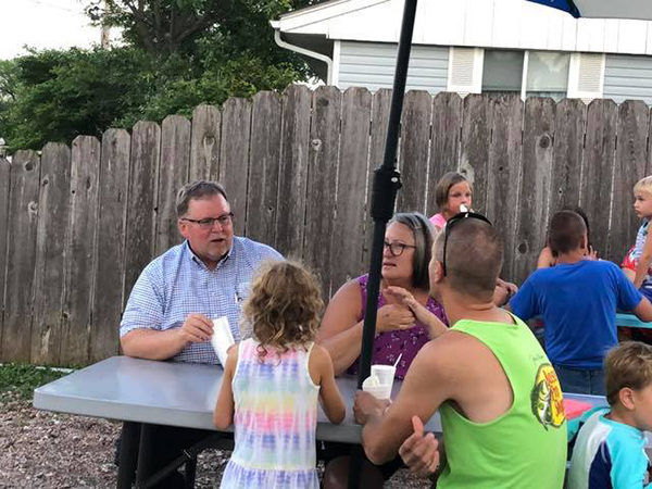 Mayor hosts meet up with residents