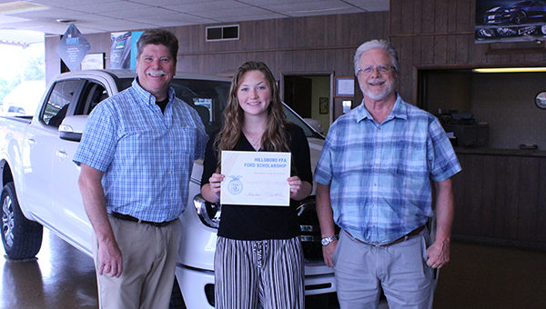 Local FFA members earn Ford Scholarships