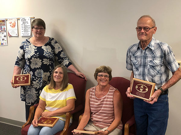 Hillsboro Retirees honored for contributions to district