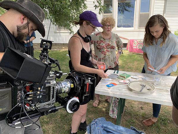 Former resident returns to Hillsboro to film movie through grant