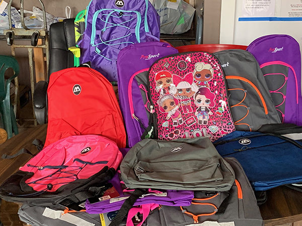 Over 70 backpacks were filled with supplies and given out to kids kindergarten through eighth grade all over Marion County on Saturday. The backpacks and supplies were donated by individuals and organizations throughout the county. This is the first year of the event, and the committee behind it all plans to continue for future years. Provided Photo