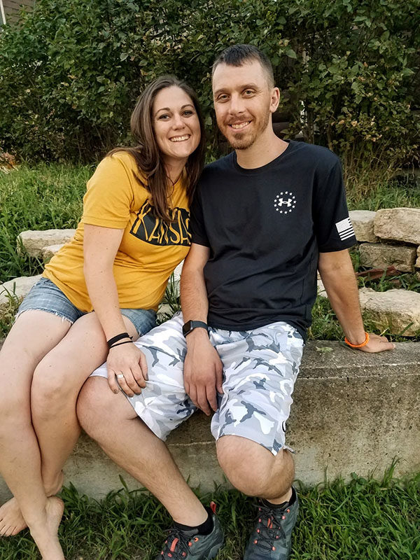 Danielle and Eric Bartel met in high school and have been married for over 12 years. They have three boys. Provided photo.