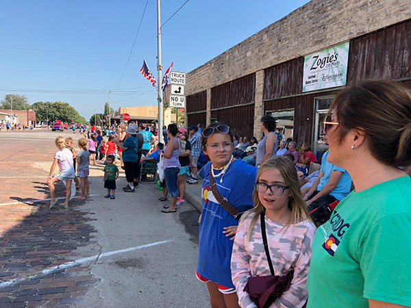 "Hundreds of spectators lined both sides of Main Street in Florence on Monday to watch the 82nd annual parade, which is part of the Florence Labor Day celebration. This year's parade theme was, ""99.96 Percent Pure Fun."" Patty Decker / Free Press"