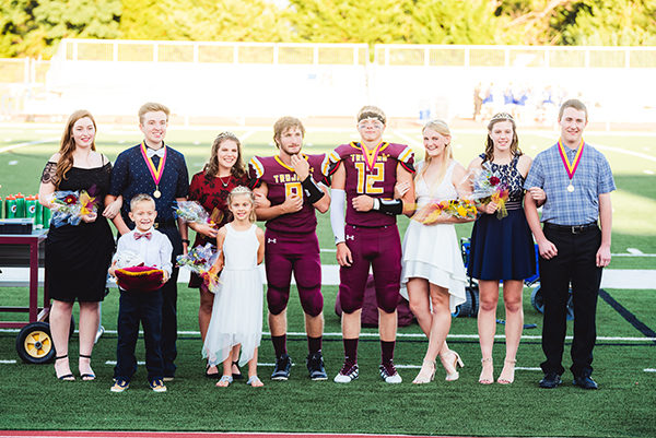 2019 HHS Homecoming Court