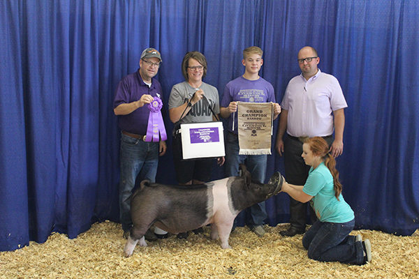Hillsboro FFA, 4-H member wins 2019 Junior Livestock show