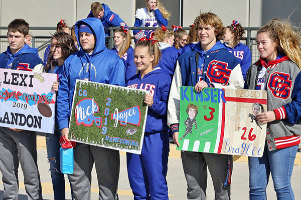 Local schools celebrate homecoming