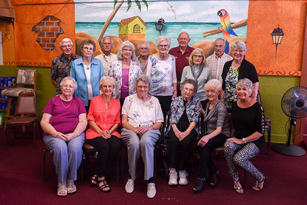 Hillsboro Class of 1954 comes together
