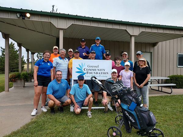 Goessel Community Foundation hosts it's annual golf tournament