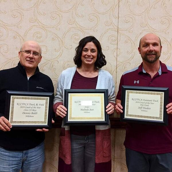 Hillsboro Track coaches honored