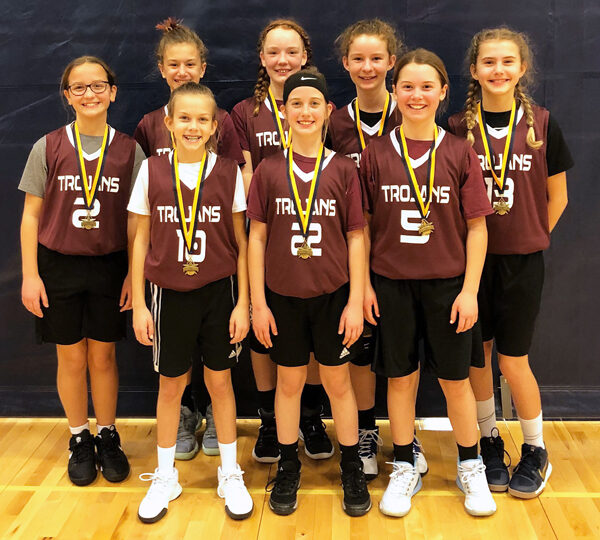 Fifth grade girls win rec tournament