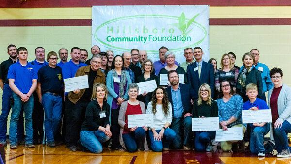 Hillsboro Community Foundation gives out money
