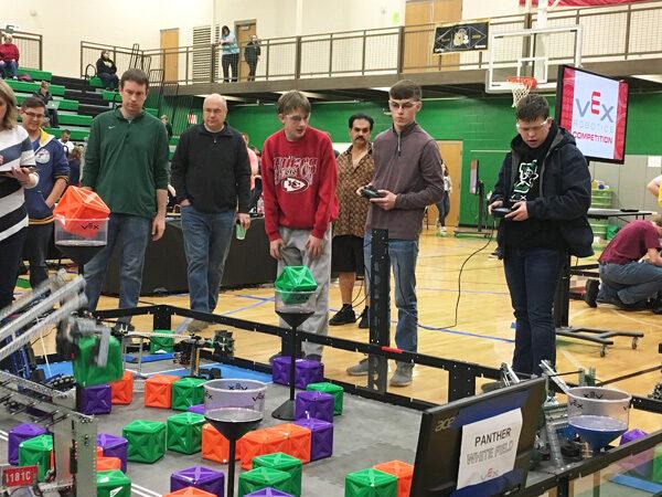 Hillsboro students show off Mr. Roboto