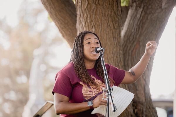 Black Lives Matter March Speech