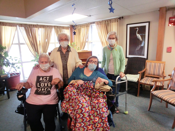 Nursing home residents speak up on county COVID policy